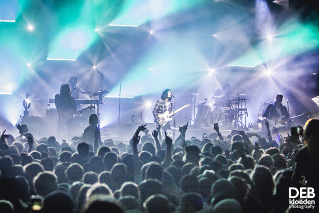 Picture of Sticky Fingers in concert by Australia music photographer Deb Kloeden