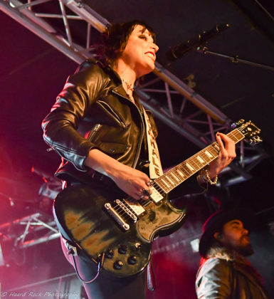 Picture of Halestorm in concert by Sweden Music and Pit photographer Lennart Håård