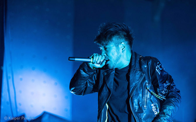 Picture of Crossfaith in concert by Denmark Music and Pit photographer Kasper Pasinski