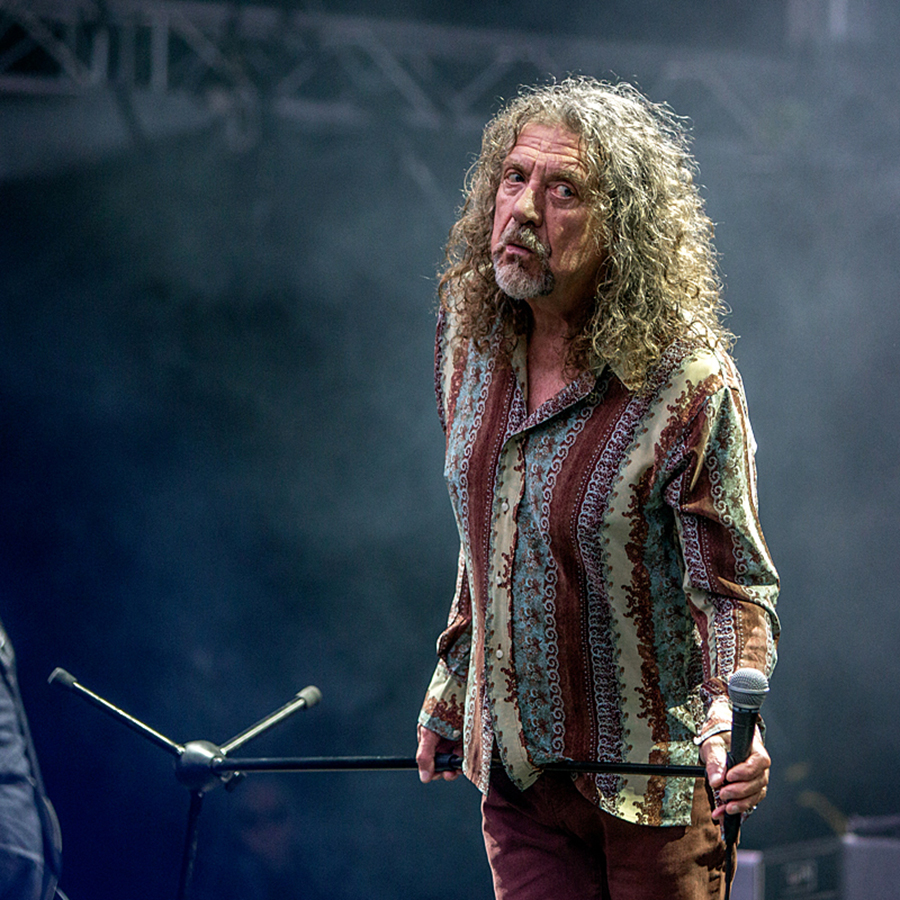 Picture of Robert Plant in concert with Norway Music photography by Per Ole Hagen