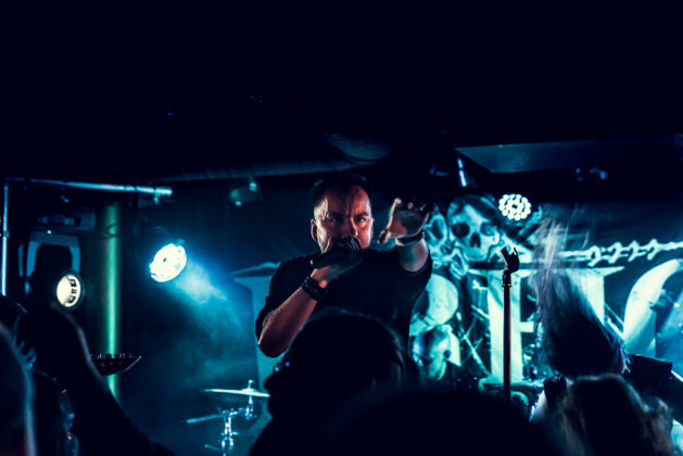 Picture of Bloodred Hourglass in concert with Finland music photography by Oskari Mäkisarka