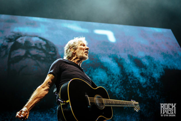 Picture of Roger Waters in concert by Bulgaria music photographer Stan Srebar