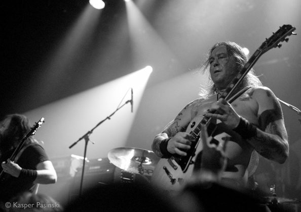 Picture of High On Fire in concert by Denmark Music and Pit photographer Kasper Pasinski