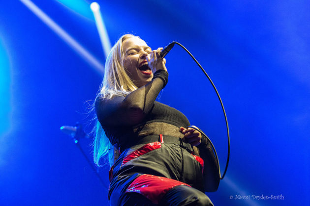Picture of Dream Wife in concert by England Music and Pit photographer Naomi Dryden-Smith