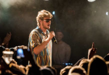 Picture of Yung Gravy in concert by Denmark Music and Pit photographer Kasper Pasinski