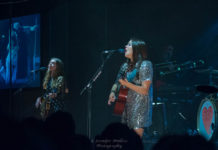 Picture of First Aid Kit in concert by American MusicPhotographer Jennifer Mullins