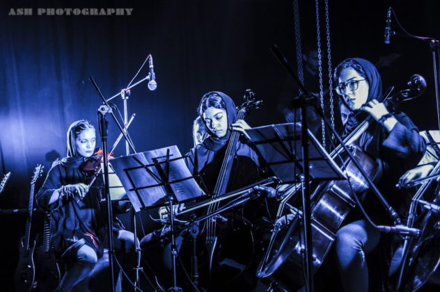 Picture ofAtria in concert by Iran Music and Pit photographer Arman Shahrokh