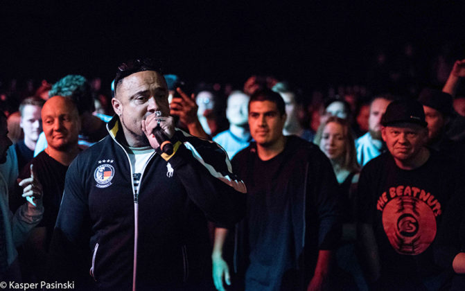 Picture of Chino XL in concert by Denmark Music and Pit photographer Kasper Pasinski