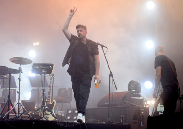 Picture of Bonobo at the Outlook festival by Croatian Music and Pit photographer David Gasson