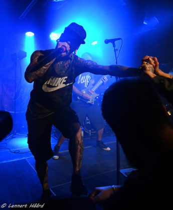Picture of Dead By April in concert by Sweden Music and Pit photographer Lennart Håård