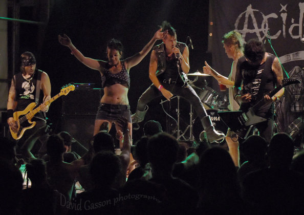 Picture of Acidez in concert at The 26th Monteparadiso Hardcore Punk Festival by Croatian Music and Pit photographer David Gasson