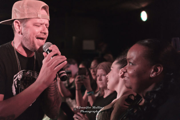 Picture of O-Town in concert by American MusicPhotographer Jennifer Mullins