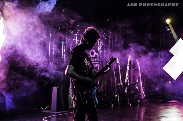 Picture of Calibre in concert in Tehran by Iran Music and Pit photographer Arman Shahrokh