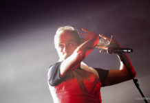 Picture of Peter Murphy in concert by Portugal Music and Pit photographer Jon Marx