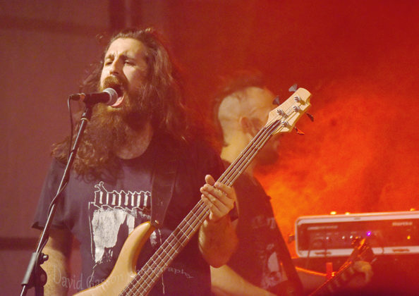 Picture of Kompost in concert at The 26th Monteparadiso Hardcore Punk Festival by Croatian Music and Pit photographer David Gasson