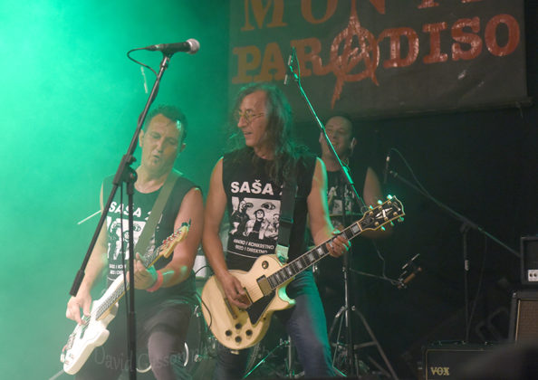 Picture of Saša 21 in concert at the Monteparadiso Hardcore Punk Festival by Croatian Music and Pit photographer David Gasson