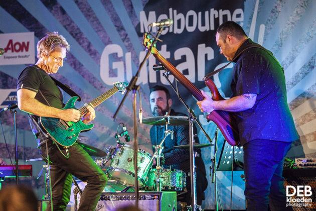 Picture of Melbourne Guitar Show by Australia music photographer Deb Kloeden