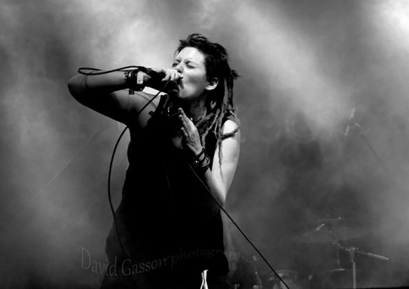 Picture of HakAttak in concert at the Monteparadiso Hardcore Punk Festival by Croatian Music and Pit photographer David Gasson