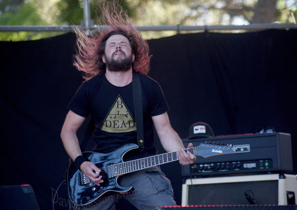 Picture of UDS (Underdamped System) in concert at the Goathell metal fest by Croatian Music and Pit photographer David Gasson