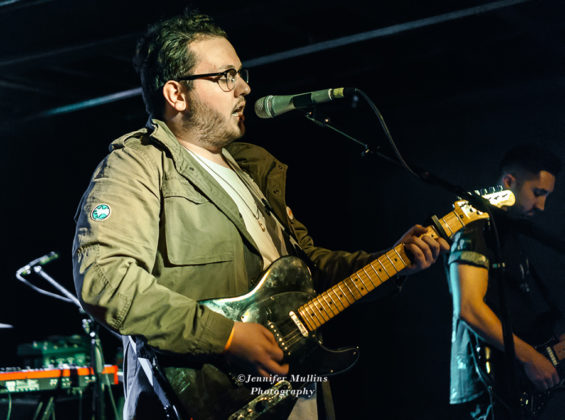 Picture of Alex Mullins in concert at the Rebel Lounge by American MusicPhotographer Jennifer Mullins
