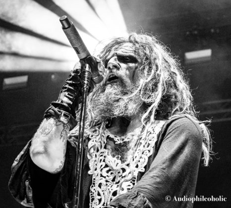 Picture of Rob Zombie in concert by American Music Photographer Andrew Perkins