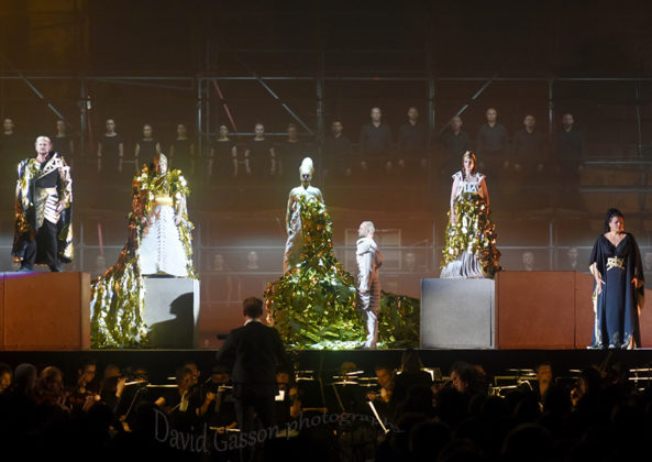 Picture of the opera Aida at Pula arena by Croatian Music and Pit photographer David Gasson