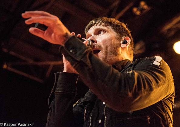 Concert picture of Shinedown in Denmark by Copenhagen MusicPhotographer Kasper Pasinski