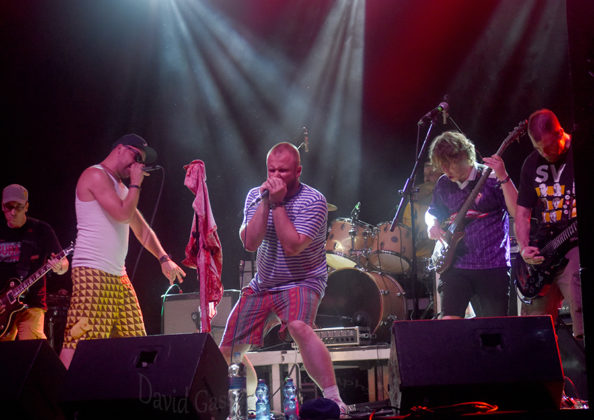 Picture of Viva Vops in concert at the Seasplash festival by Croatian Music and Pit photographer David Gasson
