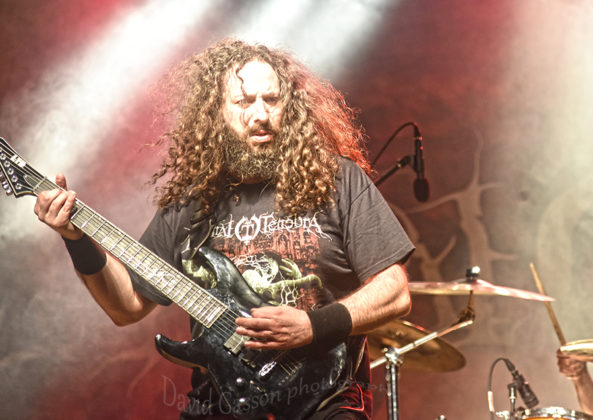 Picture of Infernal Tenebra in concert at the GoatHell Metal Festin Pula by Croatian Music and Pit photographer David Gasson