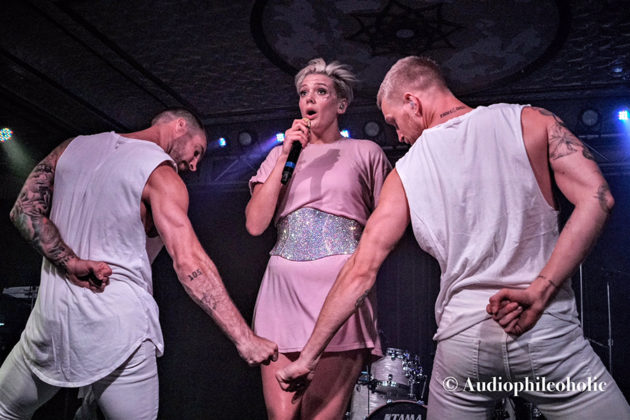 Picture of Betty Who in concert in Indianapolis by American Music Photographer Andrew Perkins