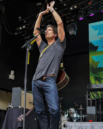 Picture of Better Than Ezra in concert in Indiana by American Music Photographer Andrew Perkins