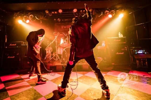 Picture of Deadsquad in concert at Antiknock / Tokyo / Japan / 10.06.2018 by Japan MusicPhotographer Aki Fujita Taguchi
