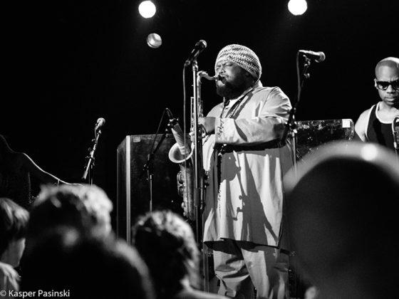 Picture of Kamasi Washington in concert in Denmark by Copenhagen Music and Pit photographer Kasper Pasinski