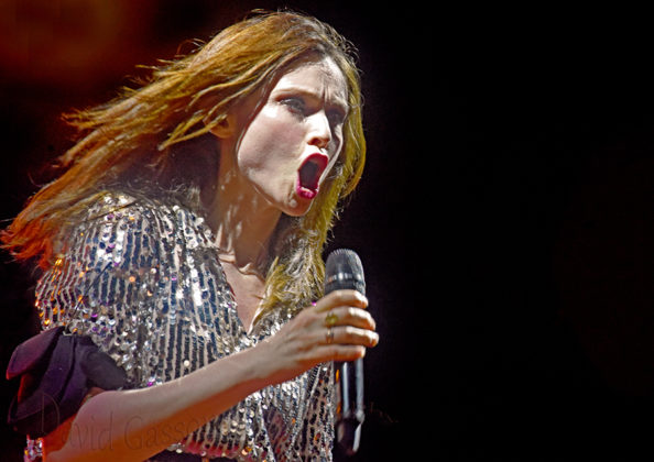 Picture of Sophie Ellis-Bextor in concert at Rovinj Beach Polo Cup ,By Croatian Music and Pit photographer David Gasson