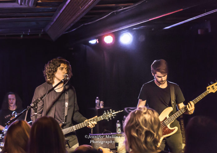 Picture of Rival Coast in concert in Phoenix by American MusicPhotographer Jennifer Mullins