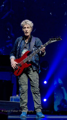 Picture of Journey in concert in America by the Maryland music photographer Carol Fisher