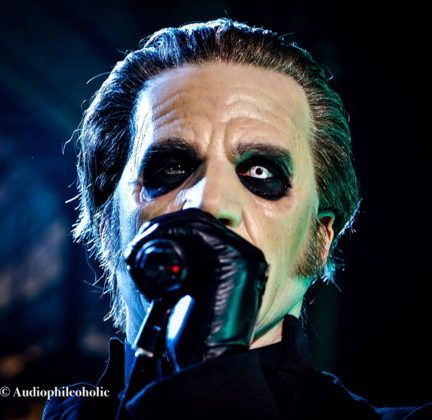 Picture of Ghost in concert at Clyde Theatre, Indiana by American Music Photographer Andrew Perkins