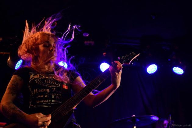 Picture of Nervosa in concert at Beta by Copenhagen Music and Pit photographer Kasper Pasinski