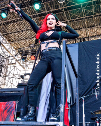 picture of New Years Day in concert at White River State Park by American Music Photographer Andrew Perkins