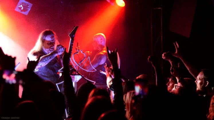 Picture of Belphegor in concert by Copenhagen Music and Pit photographer Kasper Pasinski