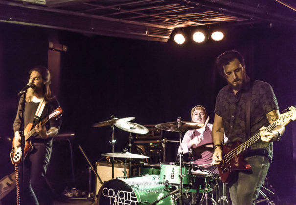 Picture of Coyote Tango in concert at The Rebel Lounge, Phoenix, by American MusicPhotographer Jennifer Mullins
