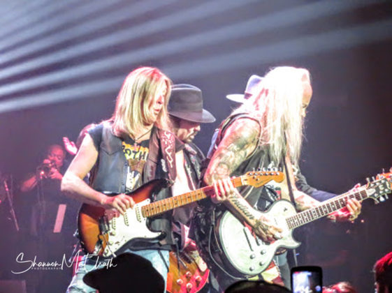 Lynyrd Skynyrd in concert in Houston on 12.05.18 by Texas music photographer Shannon McElrath