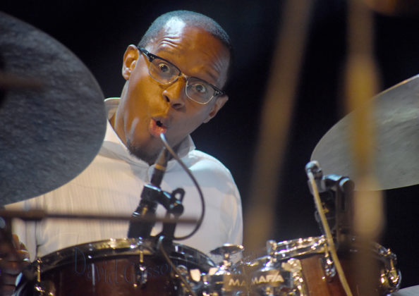 Picture of Quincy Phillips & The Christian McBride's Big Band @ Pula , Croatia. 09.05.18 by Croatian Music and Pit photographer David Gasson