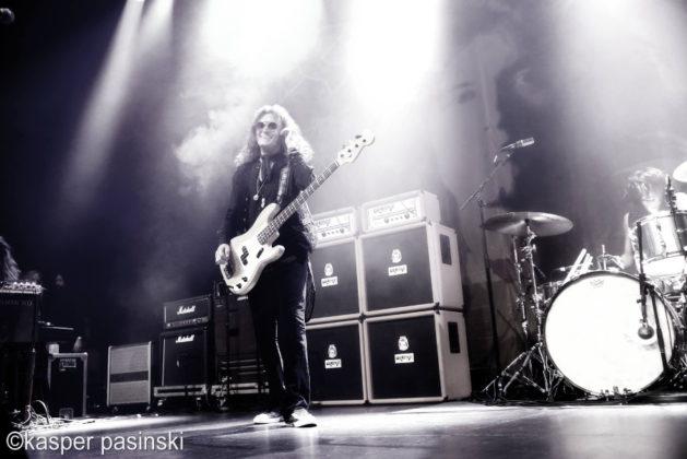Picture of Glenn Hughes in concert at Viften by Copenhagen Music and Pit photographer Kasper Pasinski