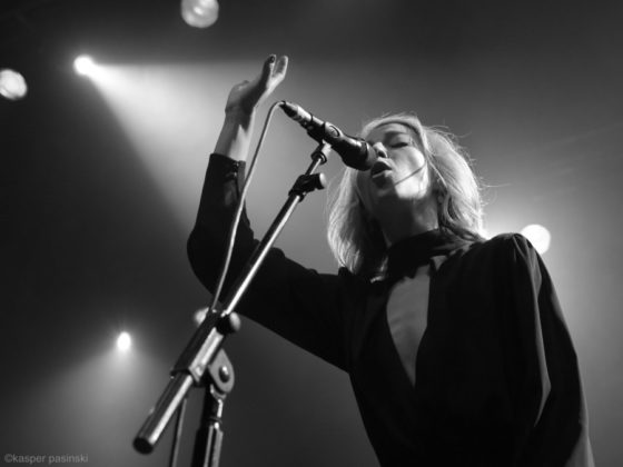 Picture of Morgan James in concert by Copenhagen Music and Pit photographer Kasper Pasinski