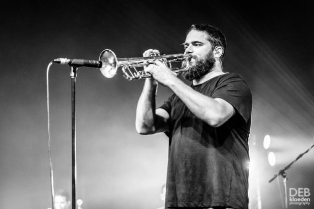 Picture of The Cat Empire at the Generations In Jazz in Mount Gambier, by Australia music photographer Deb Kloeden
