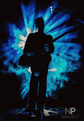 Picture of Third Eye Blind in concert at Fillmore Auditorium in Denver by Denver music photographer Nikolai Puc