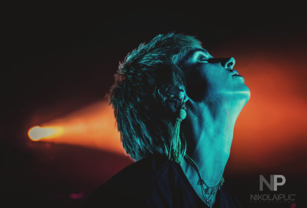 Picture of MØ in concert at MØ in concert @ Ogden Theatre 2018 by Denver music photographer Nikolai Puc