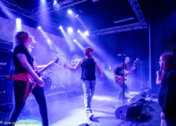 picture of Altar of Oblivion by Denmark music photographer Jason Champney