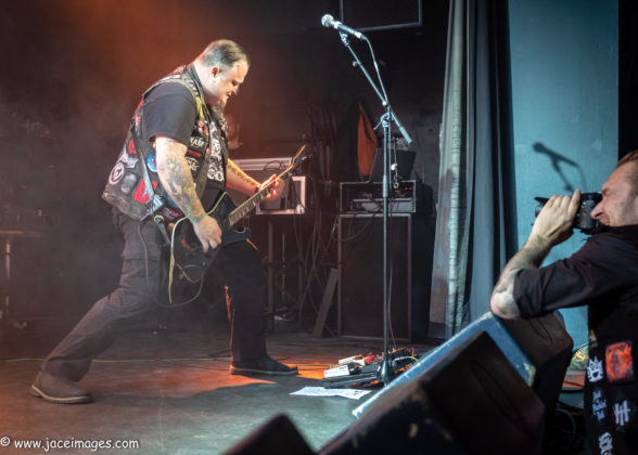 Picture of Crocell at Royal Metal Fest 2018 by Denmark music photographer Jason Champney